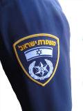 I poliziotti dell'Israele impermeabilizzano il rivestimento respirabile di Softshell di alta qualità