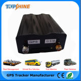 VT200 libre de Tracking Platform Vehicle GPS Tracker con Fuel Monitoring para Fleet Management (modo de LBS+GPS)