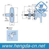 Serratura industriale del manico a t fusa sotto pressione zinco all'ingrosso del Governo di alta qualità della Cina (YH9678)