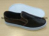 Zapatos de lona de la inyección de los zapatos ocasionales de los hombres con modificado para requisitos particulares