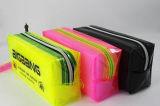 Sac de crayon de PVC de modèle de carton d'enfants avec le petit sac