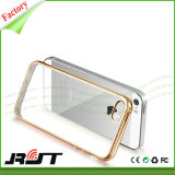 Transparante Duidelijk galvaniseert het Mobiele Geval van de Telefoon TPU voor iPhone 6 6s