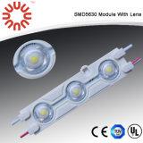 SMD 5050 impermeável 3 módulos de LED de luz