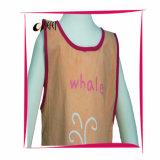 100%Cotton imprimiu as crianças que desenham cozinhando o avental do trabalho da cozinha