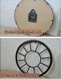 Het nieuwe Frame van het Metaal van de Klok van de Stijl Antieke om de Decoratieve Klok van de Muur