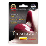 Dos comprimidos sexuais masculinos naturais do realce dos paparazzi 100% ampliação erval do pénis do líbido do vigor do comprimido do sexo