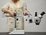 Microscopio móvil flexible de la estereofonia del soporte del auge del zoom FM-Stl2