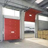 Горячая вертикаль сбывания поднимая секционную промышленную дверь (HF-037)