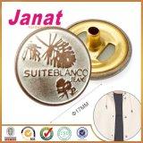 衣服のための銅合金の金属によって浮彫りにされる急なボタン