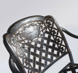 خارجيّة حديقة أثاث لازم مستطيل [كست لومينوم] طاولة مع كرسي تثبيت ([يت916&تد919])