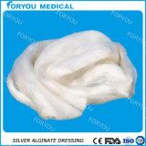 Dressage argenté antimicrobien d'alginate