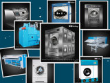 Macchina per lavare la biancheria industriale dell'estrattore efficiente della rondella, lavatrice