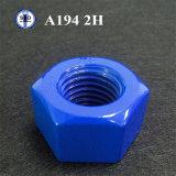 A194 2h Sechskantmutter verzinkt/Teflon