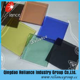 Vidrio de flotador teñido coloreado con alta calidad