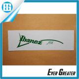 Etiqueta personalizada do decalque da corrediça de água
