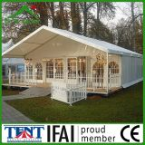 шатер партии сени венчания сада 10X30 m белый напольный