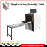 Machine de lecture de rayon X de scanner de bagage lumineuse par bas