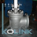 Robinet d'arrêt sphérique d'acier de bas-de-ligne de robinet d'arrêt sphérique d'angle