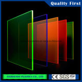 Acryl Blad met Transparante Kleur
