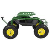 Tool Trayの重義務Gardening Planting Newの庭Cart Rolling Work Seat