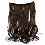 Волна верхнего качества Weft свободная в Flip волос выдвижения волос синтетическом