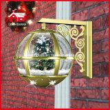 Het hete Decoratieve Licht van de Bol van de Sneeuw van de Lamp van de Muur van de Kerstboom