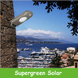 De zonne Straatlantaarn van de Tuin van de Veiligheid van de Detector van de Motie Openlucht