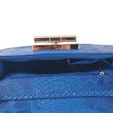 زرقاء سمكة مقياس [بو] قابض [هند بغ] مع شريط كبّل
