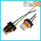 Замена для автомобильного светлого разъема разъема голубого/черного провода проводки
