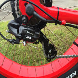 bicicleta elétrica da mulher da neve barata e confortável de 48V