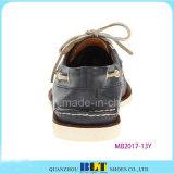 Ботинки новой шлюпки магазина конструкции кожаный