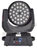 ズームレンズが付いている36PCS RGBW LEDの移動ヘッドライト