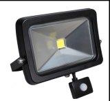 10W, 20W, 30W, 40W, 50W indicatore luminoso di inondazione del sensore di alta qualità LED