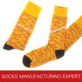 Qualität der Kamm-Baumwollfreizeit-Socke der Männer (UBM1030)