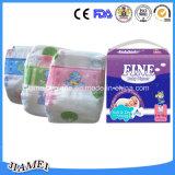 OEMの綿の使い捨て可能な赤ん坊のおむつ
