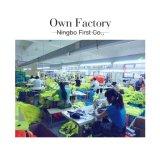 Veste reflexiva dos miúdos, feita da tela de confeção de malhas com En, fábrica em Ningbo, China
