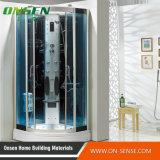Compartimento luxuoso do chuveiro do vapor da massagem