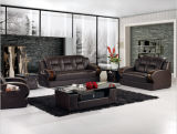 Sofá Home moderno da mobília ajustado com couro italiano