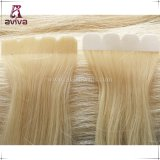 Full Cutícula Virgin Remy Seamless Skin Weft Tape Hair Extension
