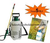 (KB-5A) Pulverizador material da pressão de mão do jardim da espessura 5L do HDPE de Kobold