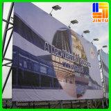 Drapeau extérieur de PVC d'impression faite sur commande pour la publicité