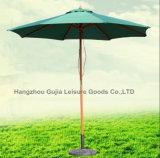 옥외 큰 정원 판매에 나무로 되는 바닷가 안뜰 우산