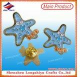 새 접어젖힌 옷깃 Pin 수다쟁이 기장 디자인 단단한 사기질