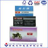 Rectángulos de empaquetado de papel de encargo para el neumático interno de la motocicleta