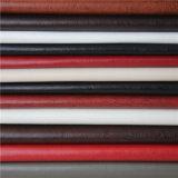 Ghiaccio che tagliato il tessuto del cuoio del Faux del PVC di prezzi per la tappezzeria della mobilia (138#)