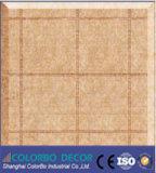 Panneaux de mur acoustiques à haute densité respectueux de l'environnement de fibre de polyester