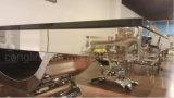 De moderne Eettafel van het Staal van Stainess van het Glas van de Eetkamer Hoogste voor Verkoop