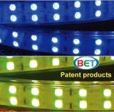 SMD5050 RGB multi Farben-doppelte Zeile LED-Streifen 110V 120LEDs/M