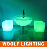 2016 cubo iluminado silla caliente del cubo LED de la venta LED