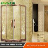 Recinto de cobre de la ducha de la calidad del perfil